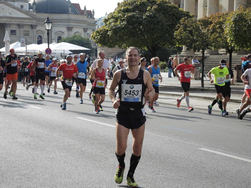 Andreas bei Kilometer 41.