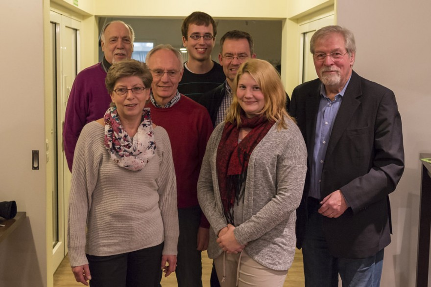 Der neue Vorstand besteht aus Hans-Christian Bock, Heike Helbing, Werner Bella, Florian Brinkmann, Jörg Krahl, Sarah Koch und Ulrich Karos (von links).