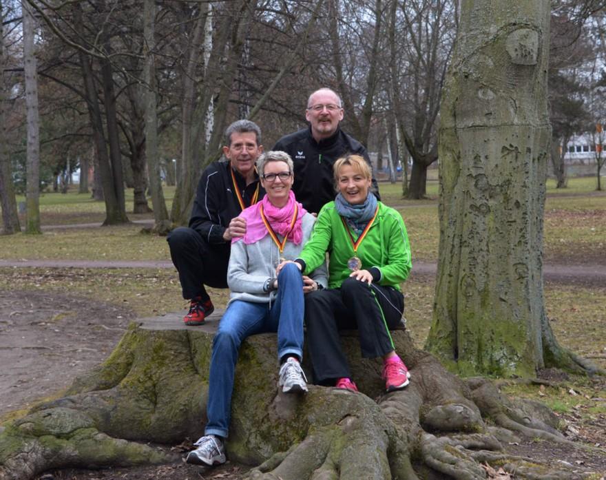 Von links nach rechts: Manfred Arnd, Frauke Lindemann, Uli Titze und Gabi Bauernfeind.