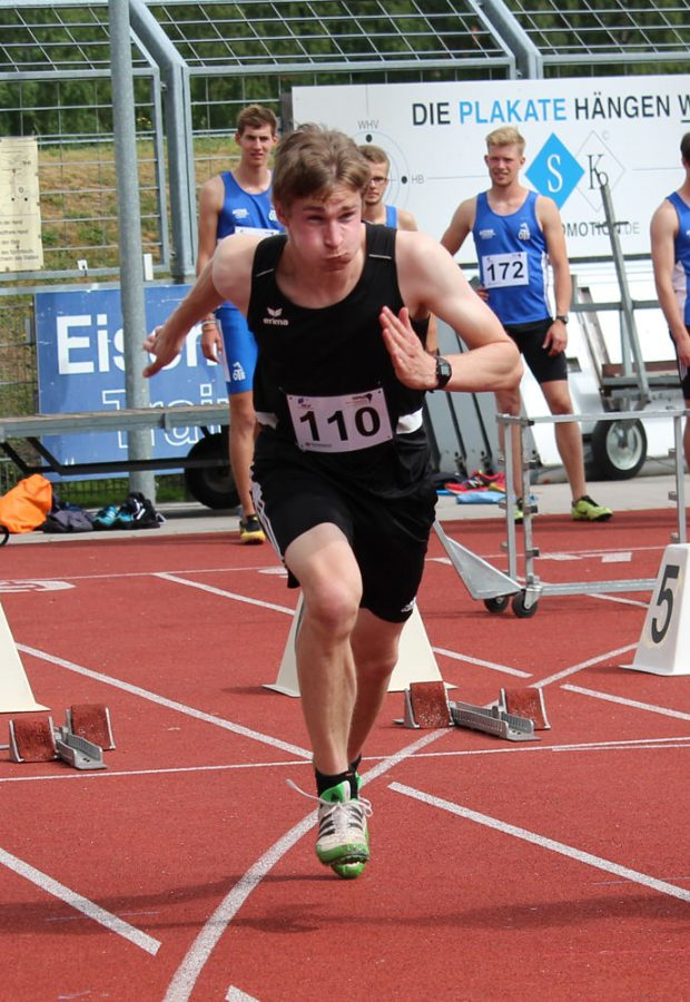 Christian 100m 2