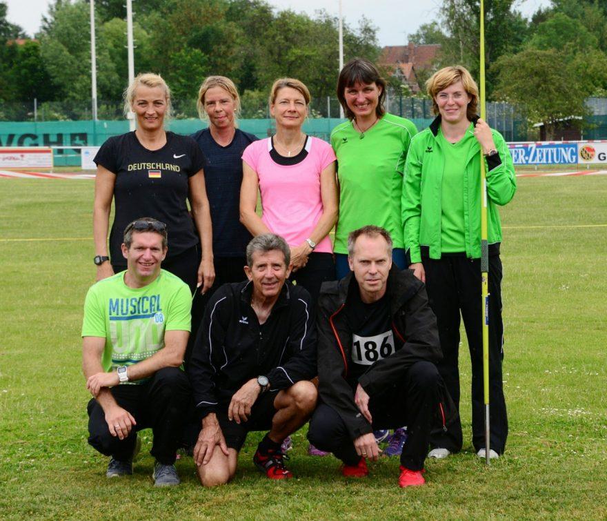 Das erfolgreiche Burgdorfer Team in Gronau. (Bild: Manfred Arnd)
