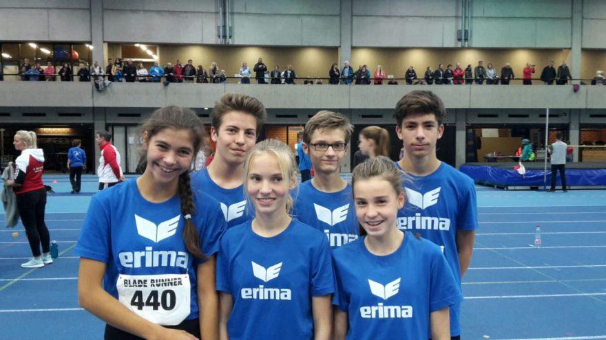 Vianne, Sören, Fiene, Niklas, Greta und Mert (von links nach rechts).